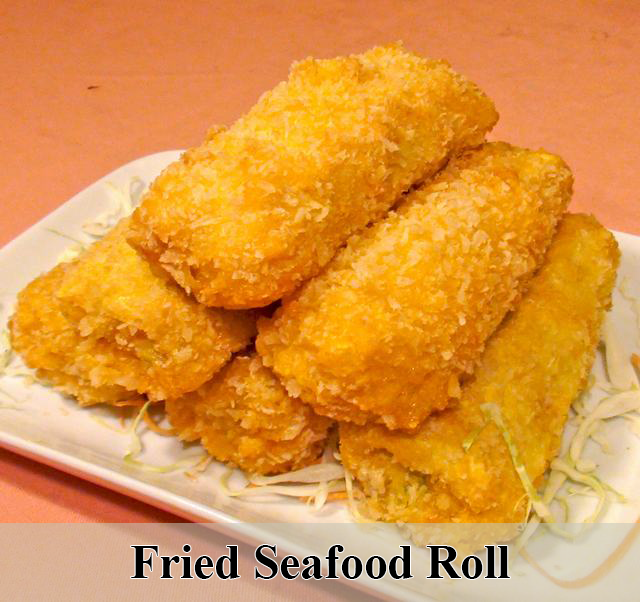 Fried Seafood Roll