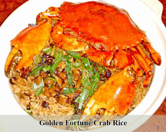 Golden Fortune Crab Rice