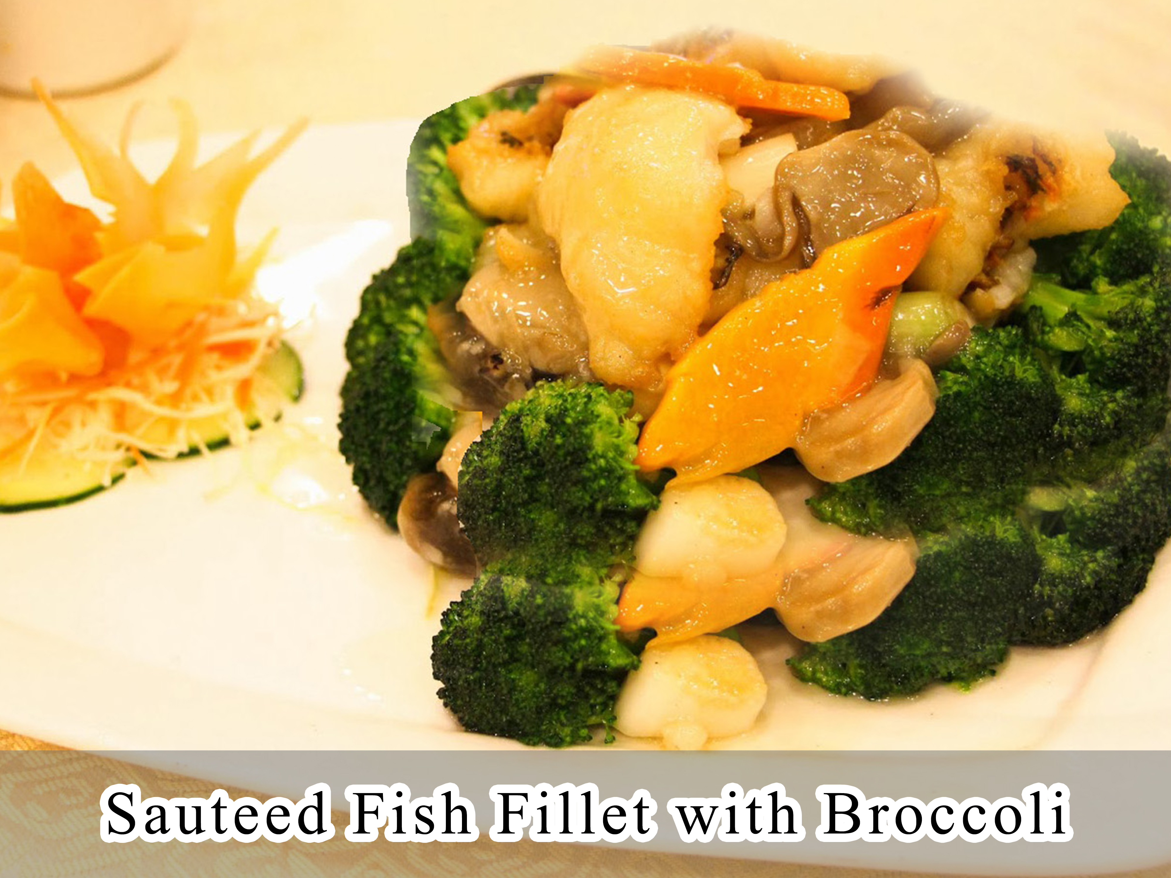 Sauteed Fish Fillet with Broccoli