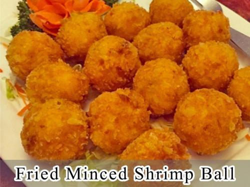 Fried Minced Shrimp Ball