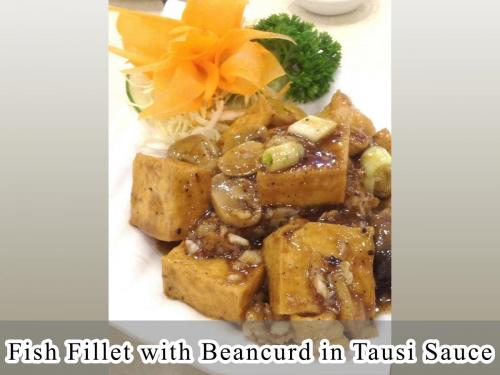 Fish Fillet with Beancurd in Tausi Sauce