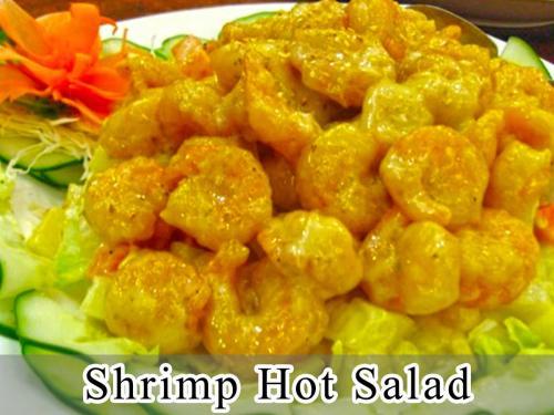 Shrimp Hot Salad